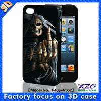 Factory make plastic hard case for iphone 4 4s