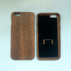 Blank Sapele wood phone case for iphone 6