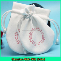 Drawstring Velvet necklace pouch bag