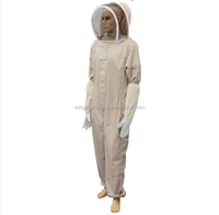 2017 hot sale Ventilated Cotton Beekeeping Suit for beekeeper