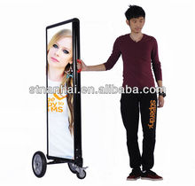 super slim laser advertising equipment Fashion for subway attractive showing