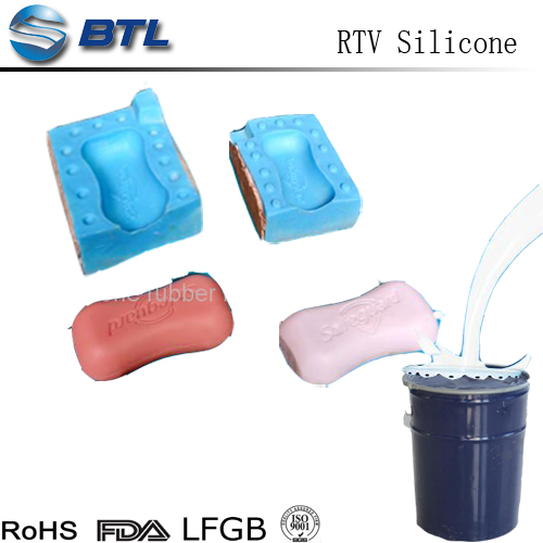 Low viscosity rtv silicone rubber