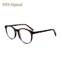 New fashion china wholesale acetate double color eyewear frame wenzhou