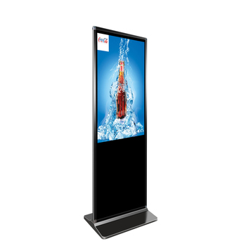 47 Inch standing lcd advertising digital signage display with core i7 processor