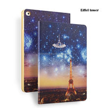 color printing pu leather case for ipad air 1 for ipad air 2