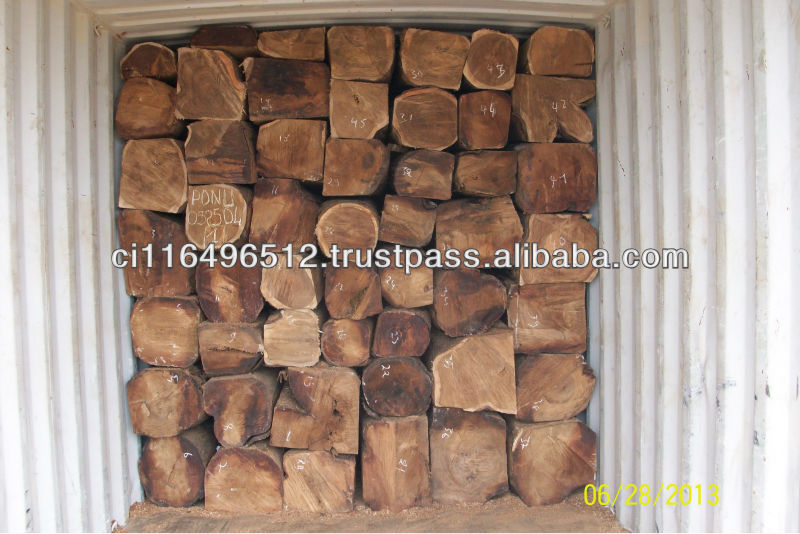 Kosso wood/timber from Cote D'ivoire