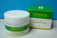 Skin whitening face acne treatment cosmetic cream for pigmentation