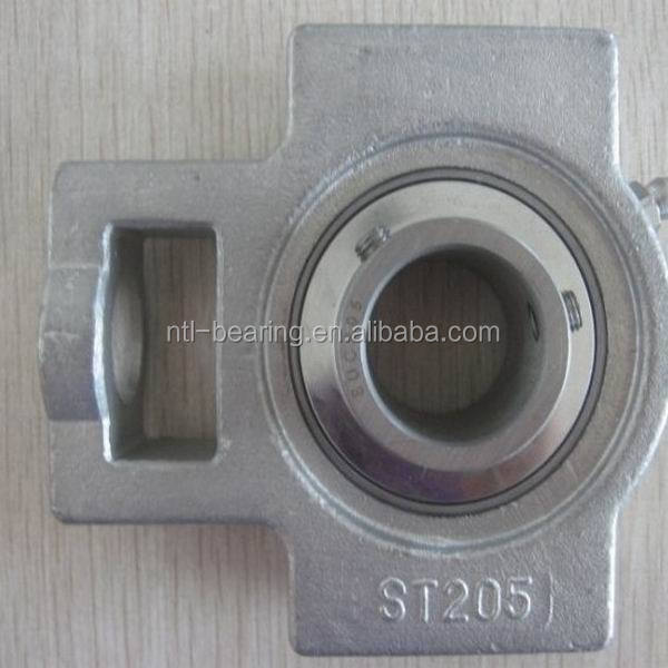 25mm stainless steel pillow block bearing SSUCF205 with 4 bolts flange