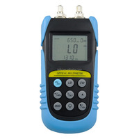 optical multimeter with integrated function of -70 to +6db optical Power meter and 15mw fiber visual fault locator