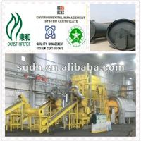 2016 latest technology tyre pyrolysis plant manufacturers from china