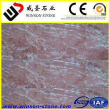 hot sale High quality cheap price Diana rose colored cream marble 12x12 tile from guangzhou factory