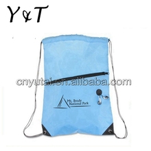 New style useful cheap custom eco cotton drawstring bag