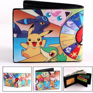 Japanese Cartoon Pokemon Anime Lovely Printed Wallet