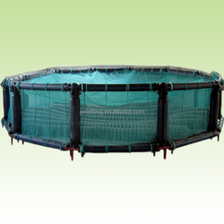 PE farmed fishing net cage
