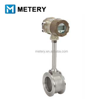 compensation vortex flange flowmeter for vapour