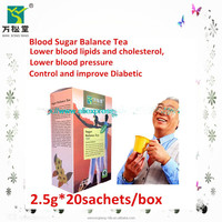 chinese natural herbal tea lower blood suagr balance and control diabetes tea