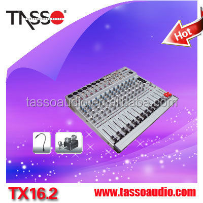 GUANGHZOU manufactory12-channel digital audio video mixer