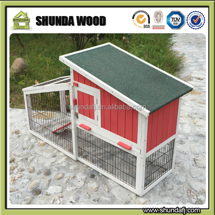 SDR22 wooden pet breeding cages for rabbits
