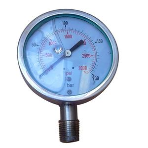 Nitrogen dual air pressure gauge made in China