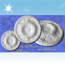 Lighting ceiling rose PU ceiling Tiles decorative plate