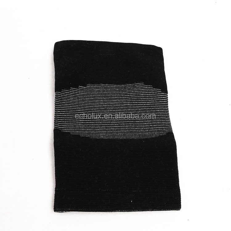 Knee Wraps, Fiber Knee Support, Knee Compression Sleeve <strong>Protects</strong> Against Further Knee Damage