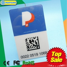Long range RFID Parking system contactless Passive UCODE G2XL UHF CARD