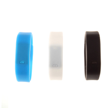 Soft touch silicone touch led watch instructions for kids