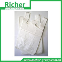hdpe T shirt carrier bags 2014 customer packaging type plastic bag