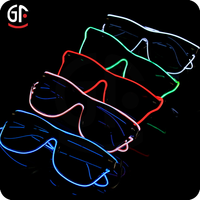 Party Supplies Led Glowing Sound Activated Glasses Chinese Novel Products