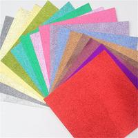 top level specification glitter powder greeting cards