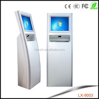free standing wifi/3g LCD android kiosk touch monitor