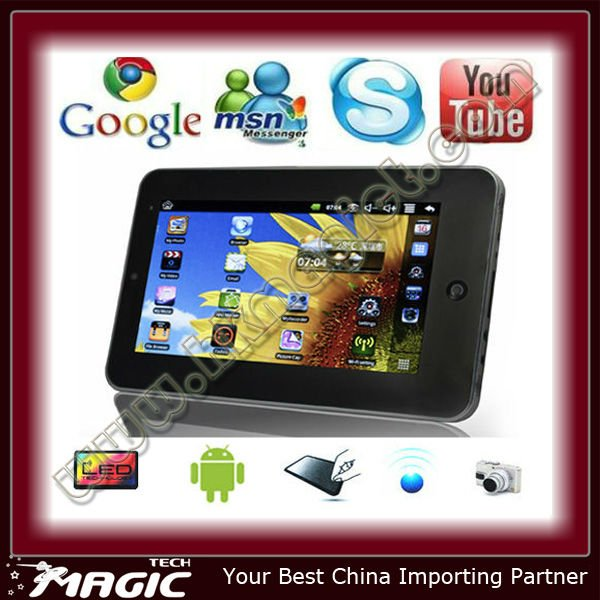 High performance tablet pc android 2.2 with low price