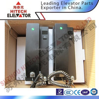 2 wire intercom system for elevator and lift