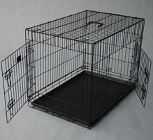 Easy clean easy assemable folding wire mesh dog house