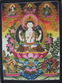 Beautiful Kharcheri/Chenrezig Thangka Tibetan Handmade in Nepal
