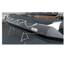 Liya 5.2m 70hp China rib PVC inflatable boat fiberglass rowing boat