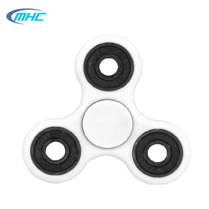 Hot sale customized tri- hands fidget spinner adult toy