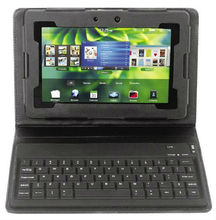 "Bluetooth Keyboard Leather Cover Case for 7"" BlackBerry Playbook"