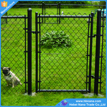 Galvanized / PVC coated chain link fence for making dog cage