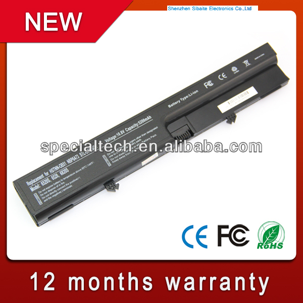 Laptop ac external battery 10.8V 5200mAh for HP HSTNN-OB51 NBP6A73 HSTNN-OB51 NBP6A73 STL-CHA-SON
