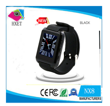 "2016 New Factory Direct Bluetooth Watch Sports Health Watch NX8 Bluetooth Watch 1.44"" Screen Pedometer Remote Camera, etc"