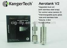 2014 Authentic Kangertech Air control valve Aerotank V2 mini aerotank RBA atomizer