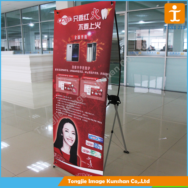 Promotion ukuran x banner stand wholesale