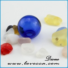 hand blown glass gazing balls earring