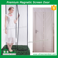 White Laced New Fashion Magnetic Door Cover