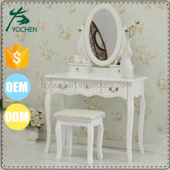 decoration of house interior dressing table with drawers
