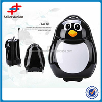 cute Kids school bag animal design hot sale good quality penguin luggage