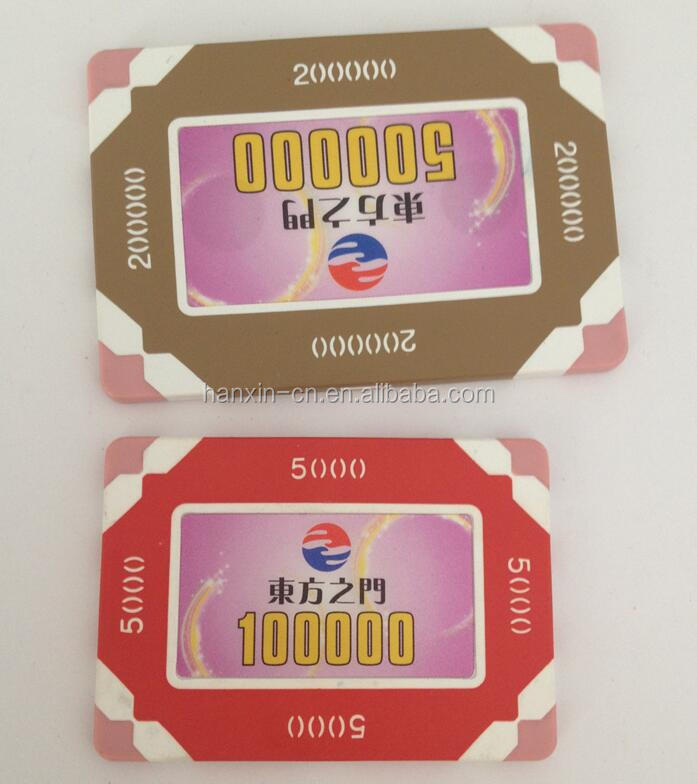 Hotsale RFID Dongguan OEM Supply Custom Poker Chips