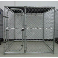 square pipe or round pipe frame welded mesh dog kennel