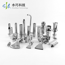 Different size OEM decorate outdoor fountain nozzle water fountain parts